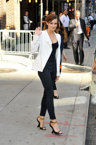 The Late Show with David Letterman - September 5, 2012