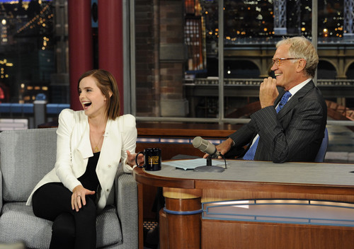 The Late tampil with David Letterman - September 5, 2012