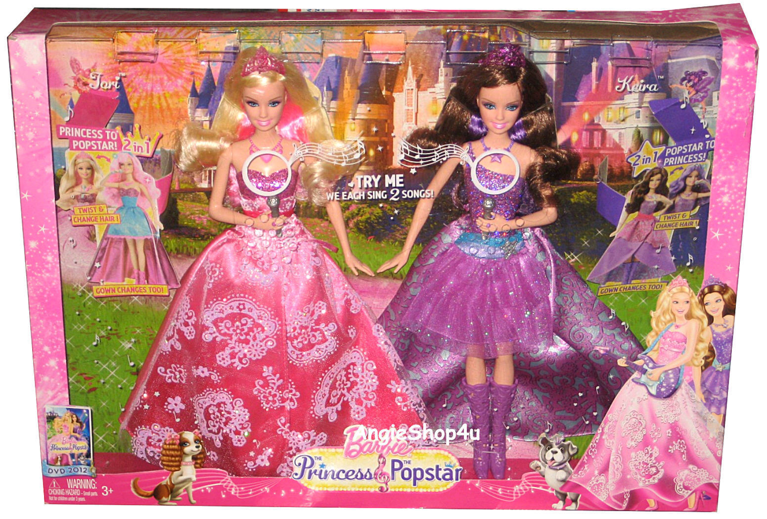 Barbie Movies Tori And Keira Dolls In The Box