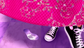 Tori wearing Converse