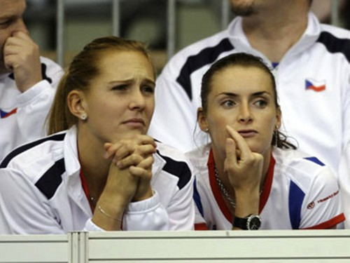 Vaidisova and Benesova: both had a relationship with Melzer