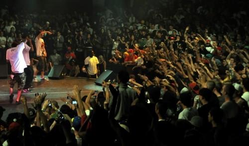 Wiz Khalifa concert Screens