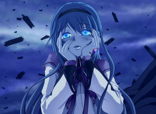 Anime images Yandere!Homura (Mirai Nikki Parody) HD ...