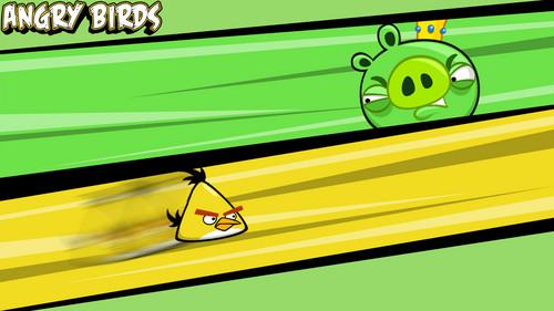 Yellow Bird VS King Pig