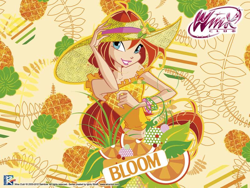 Winx club bloom magic bloom