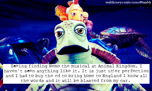 Finding Nemo wallpaper titled disney confessions