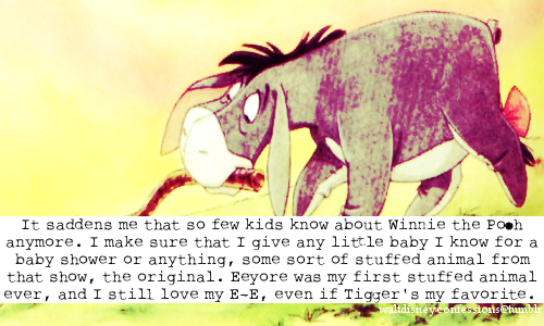Winnie Pooh fondo de pantalla with a triceratops and anime titled disney confessions