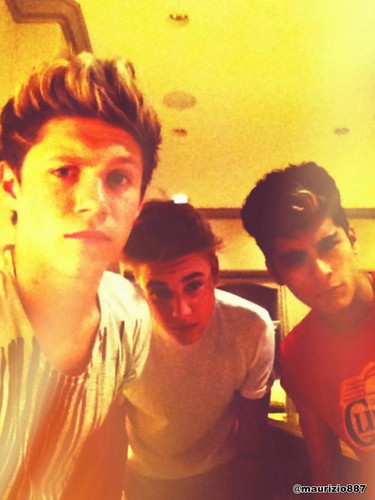 justin bieber & one direction, 2012
