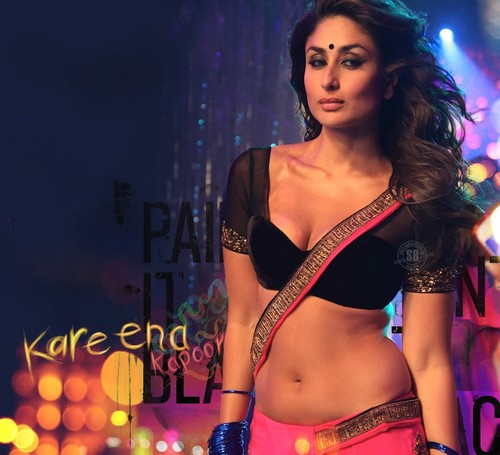 Bollywood wallpaper probably containing a concert, an undergarment, and a bikini entitled kareena in halkat jawani