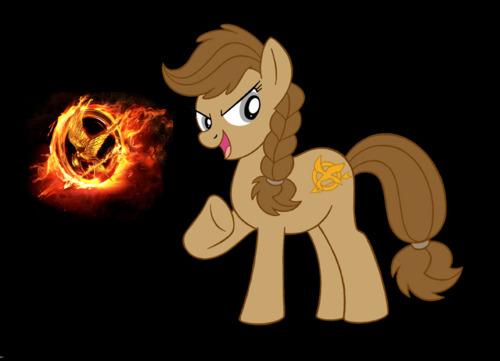 katniss as a pony