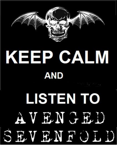Avenged Sevenfold wallpaper called keep calm