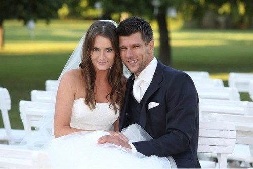 Tennis images  Benesova and  Melzer announced on Twitter: From Friday, we're married ! HD wallpaper and background photos