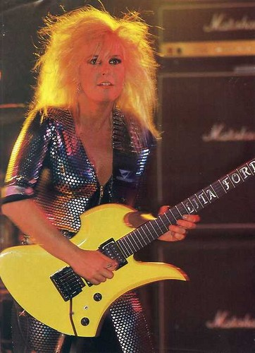 Rock Guitar Legends images ★ Lita Ford ☆ wallpaper and ...