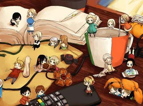 ~Tiny Hetalia Countries~