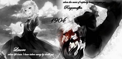1900s - When Lenore was still alive and Ragamuffin was still a vampire