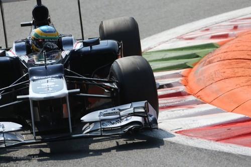2012 Italian GP Practice