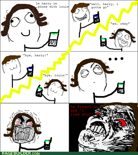 2nd 1D rage comic! enjoy