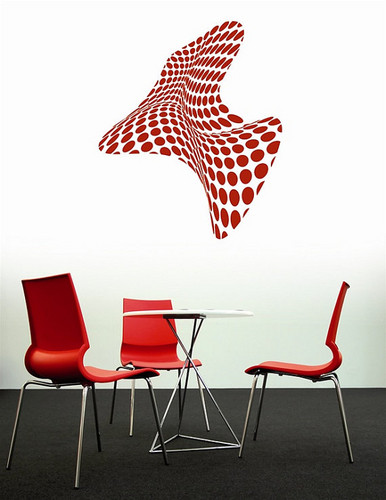 3D Round Dots Wall Sticker