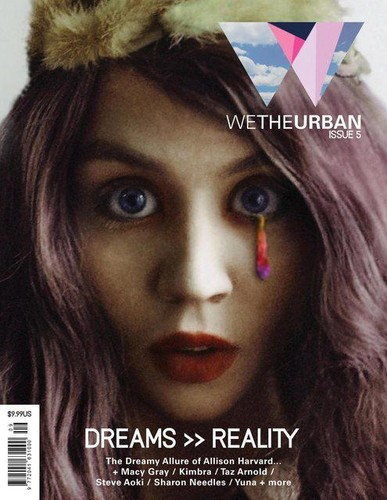 ALLISON HARVARD FOR WETHEURBAN MAGAZINE ISSUE 5