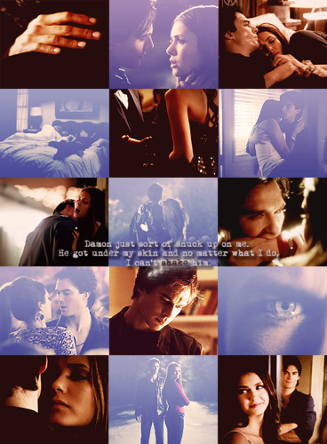 Damon & Elena wallpaper called ALWAYS DELENA