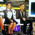 Adam Lambert at Fashion Police Set - adam-lambert photo