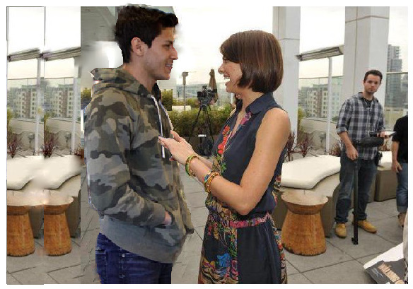 Alex Meraz and Lauren Cohan