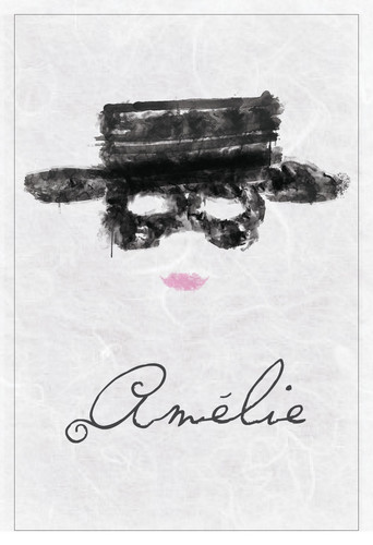 Amelie wallpaper probably containing a sign entitled Amelie Minimalist Poster