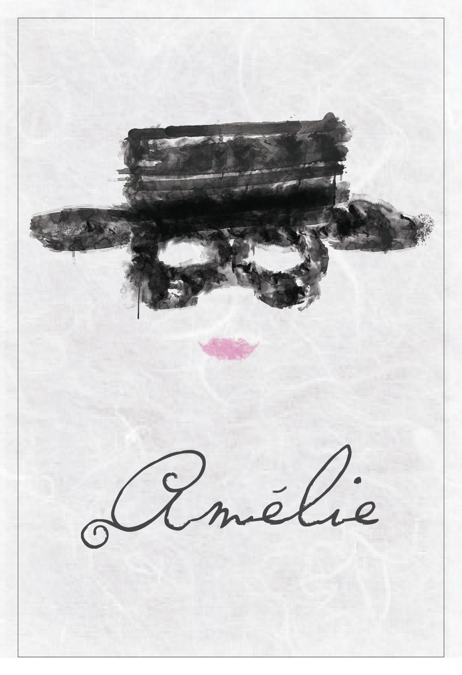 amelie minimalist poster - amelie fan art  32115827
