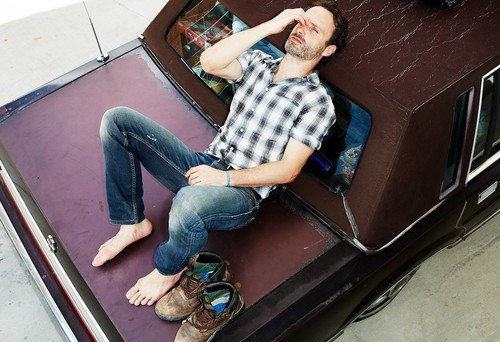Andrew Lincoln in Men's Health - the-walking-dead Photo