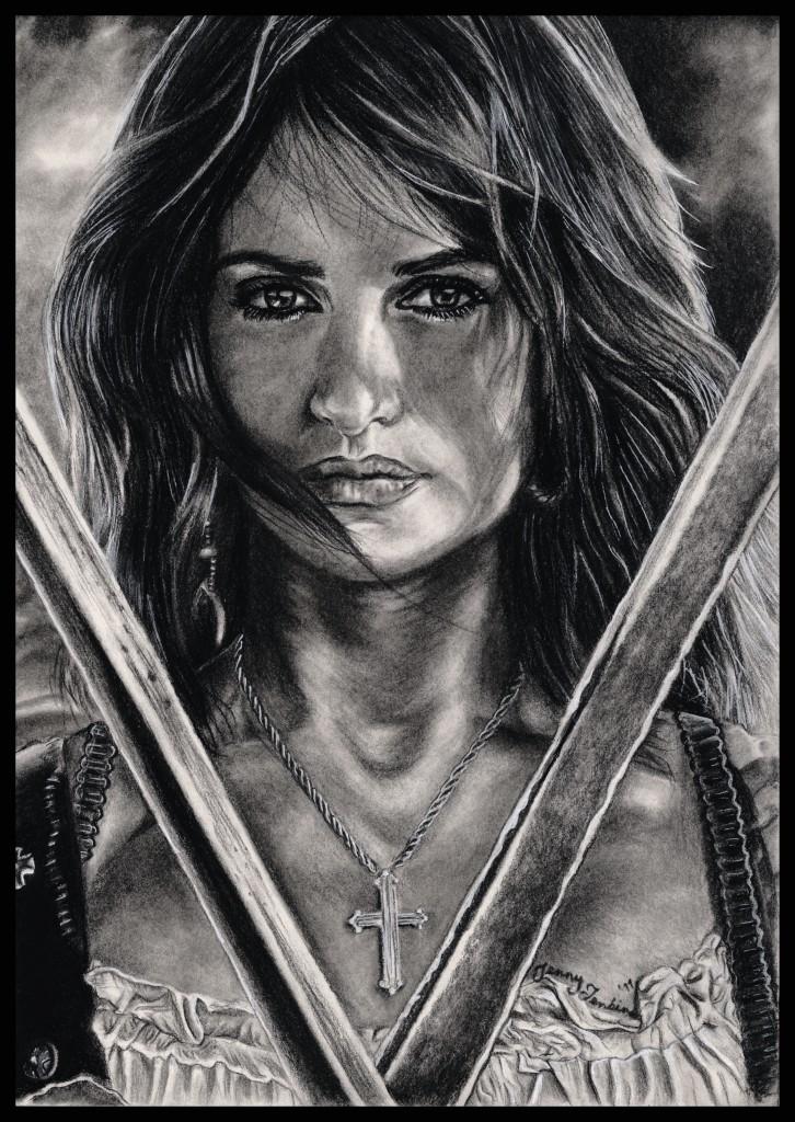 加勒比海盗 images angelica drawing 由 jenny jenkins hd wallpaper