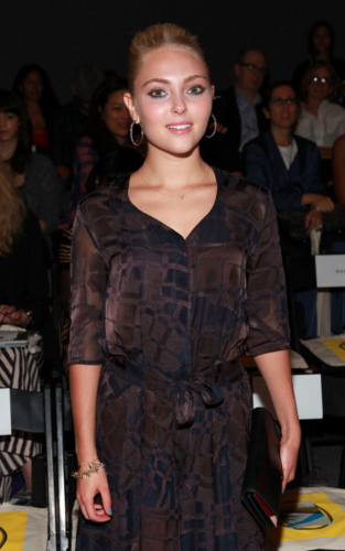 AnnaSophia - Mercedes-Benz Fashion Week - Timo Weiland - September 09, 2012