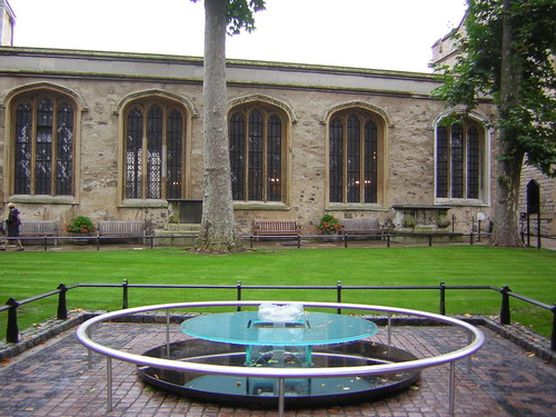 Anne Boleyn's execution site
