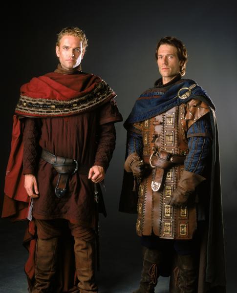 Arthur and Lancelot