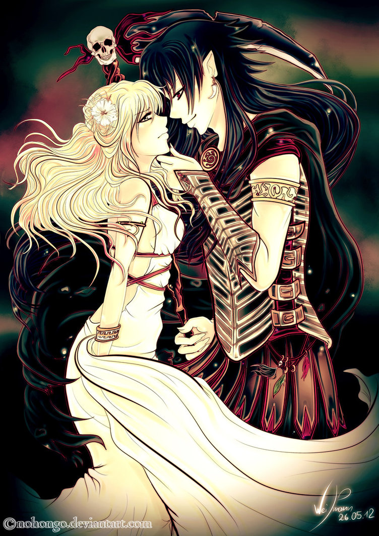 hades and persephone images artworks from deviantart hd wallpaper