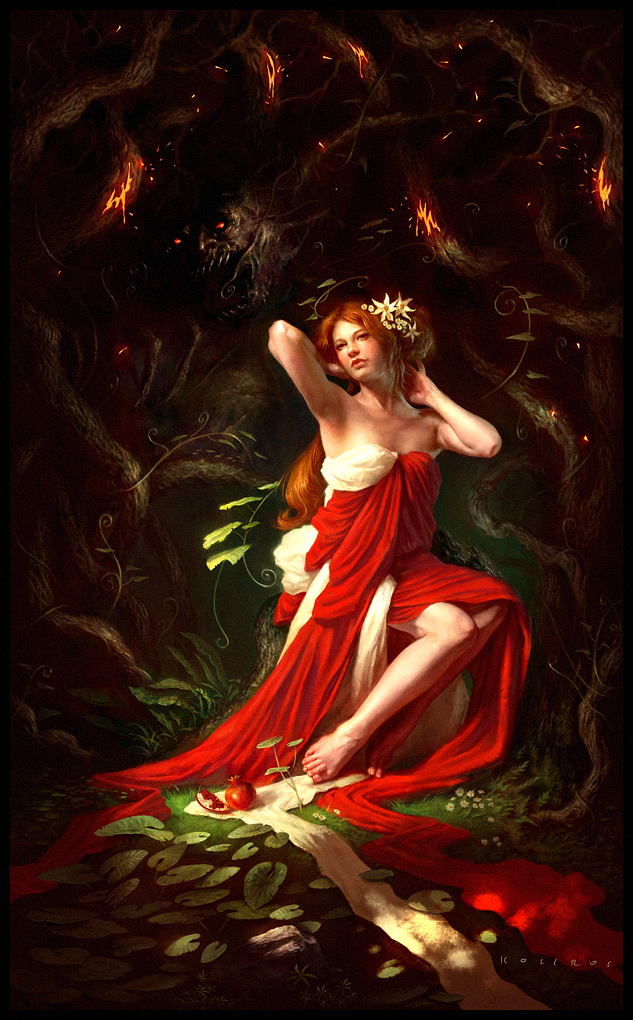 Hades and persephone images artworks from deviantart hd for Maitresse lilith