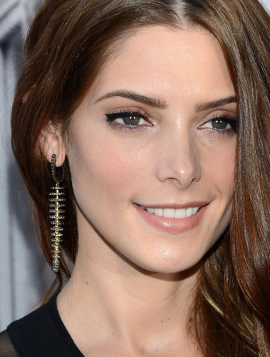 Ashley Greene wallpaper probably containing a portrait entitled Ashley at the DKNY show for New York Fashion Week