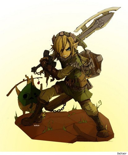The Legend of Zelda wallpaper possibly containing a rifleman, a navy seal, and a green beret titled Awesome.