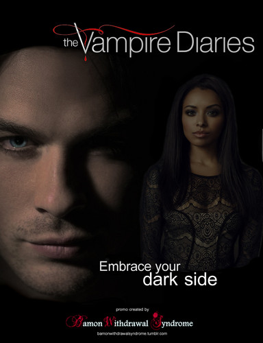 Bamon Season 4 promos by Bamon Withdrawal Syndrome Blog - damon-and-bonnie Fan Art