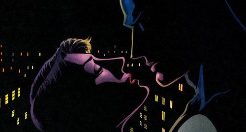 ব্যাটম্যান & Catwoman - Almost চুম্বন
