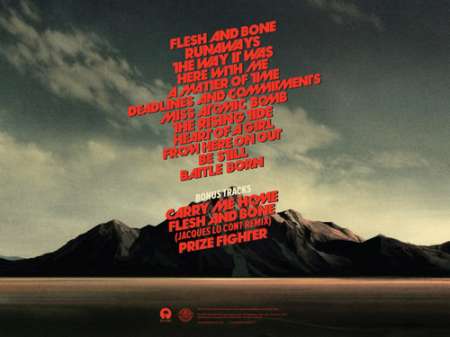 Battle Born CD booklet