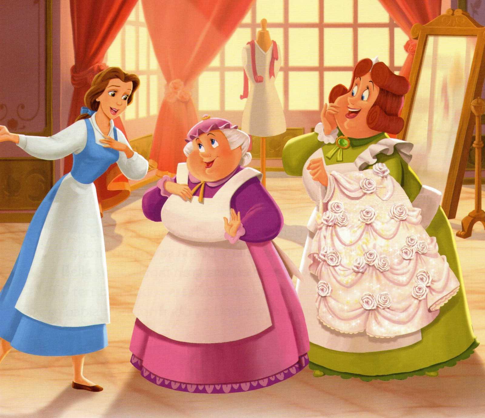 Beauty and the Beast - Disney Princess Photo (32149937 ...