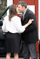 Ben and Jen took Sera out for a breakfest - ben-affleck-and-jennifer-garner photo