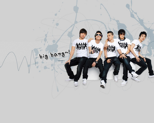 kpop 4ever wallpaper called Big Bang wallpaper