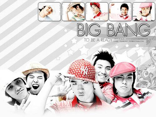 Big Bang fond d'écran