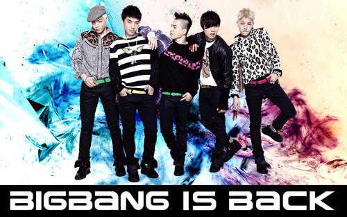 Big Bang achtergrond