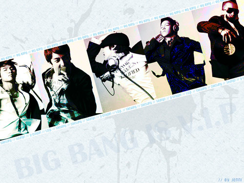 kpop 4ever wallpaper containing a sign called Big Bang wallpaper