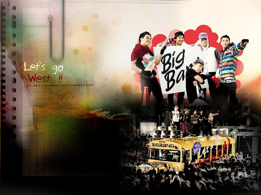Big Bang wallpaper  kpop 4ever Wallpaper 32175171  Fanpop