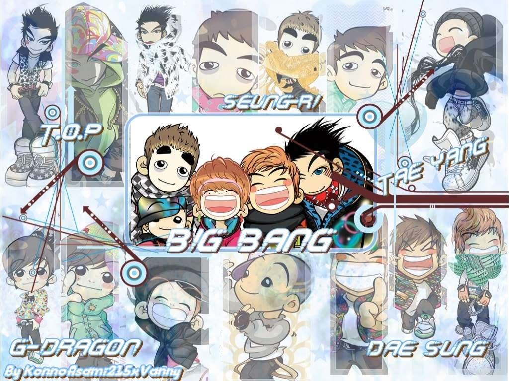 Big Bang Wallpaper Kpop 4ever Wallpaper 32175190 Fanpop