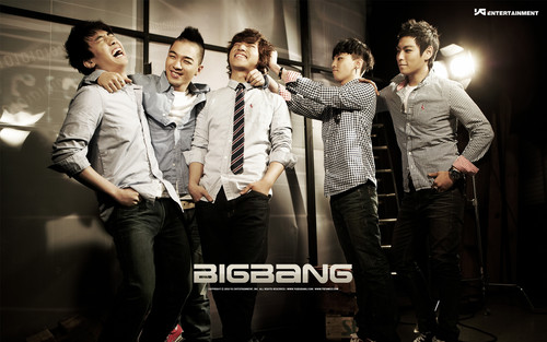 kpop 4ever wallpaper containing a well dressed person, a business suit, and a concert called Big Bang wallpaper