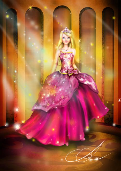 Blair Cute Barbie Princess Charm